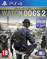 Watch Dogs 2 Gold Edition (Exclusive to Amazon.co.uk) (PS4)
