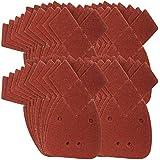 40 Hojas de Papel de Lija para Lijadora de Palma Black and Decker de grano 60 (Grueso)