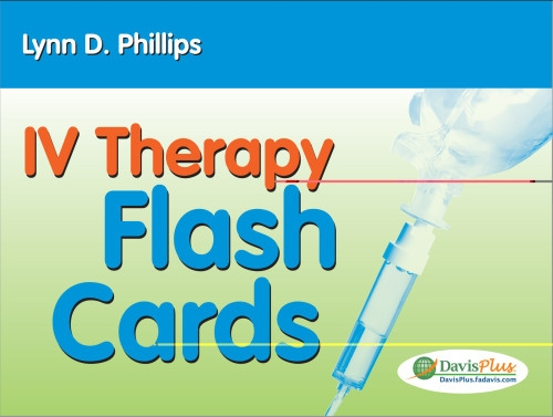 IV Therapy Flash Cards (Pharmakologie-flash-karten)
