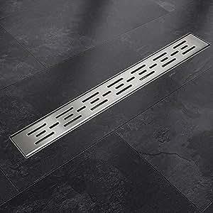 Edelstahl Duschrinnen Ablaufrinnen Bodenablauf Duschrinne Duschablauf Matrix 120cm