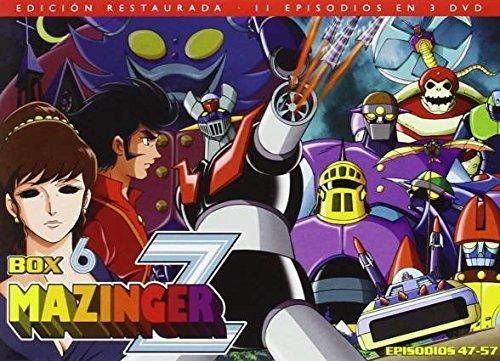 mazinger-z-box-6-dvd