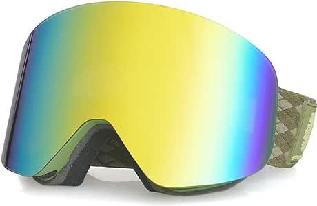 Invernale da sci sport all aria aperta protezione UV 100/% anti Fog Lens snowboard per ragazzi e ragazze/ /Kids/ /nero