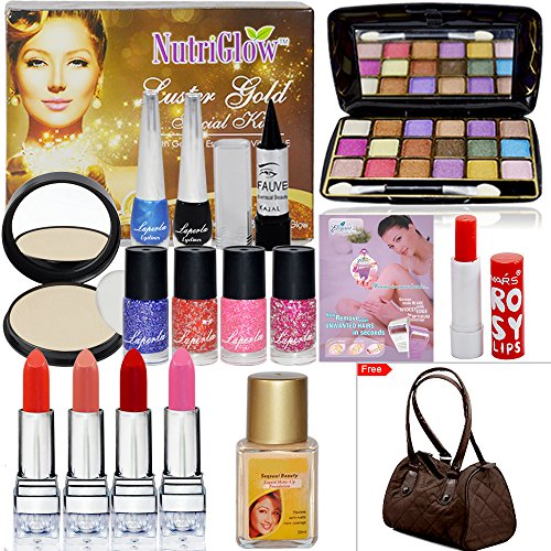Beauty Heart Combo Makeup Sets Pack of 18
