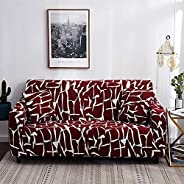 Qord Stretch Sofa Covers,Sofa Slipcovers with Elastic Bottom,Slip Resistant Furniture Protector