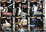 Star Wars Set Pop Culture 2015 (6 Modellautos) in 1:64 Hot Wheels CFP34