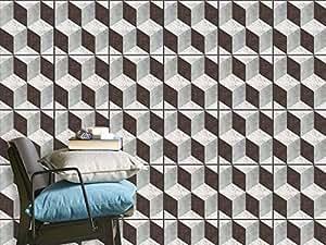 Pellicola di plastica adesiva adesivi piastrelle bagno for Adesivi per mattonelle
