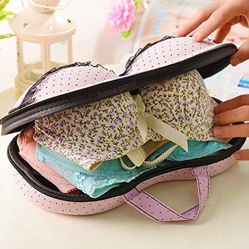 Ndier portable protect bra underwear lingerie case travel organizer