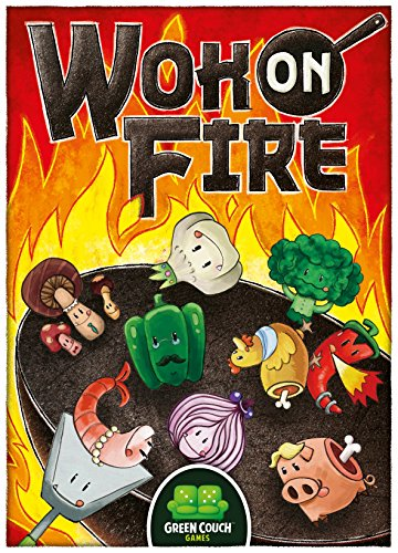 Wok On Fire Card Game by Green Couch Games