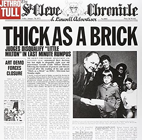 Jethro Tull Thick As A Brick - Thick As A Brick by Jethro