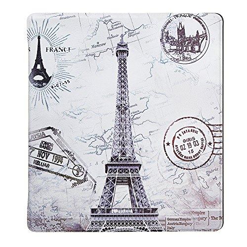 Preisvergleich Produktbild MYAMIA Pu + Pc Smart Sleep Eiffelturm Schutzhülle Case Für Oasis 7 inch Ebook Reader Kindle