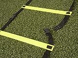 RHINOS sports Koordinationsleiter 4 Meter inkl. Tragetasche - 2