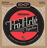 CUERDAS GUITARRA CLASICA - D´addario (EXP/45) Normal Tension Coated (Juego Completo)