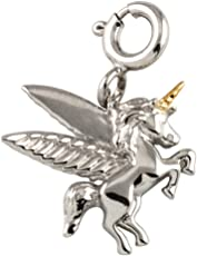 Pendant in 925 Sterling Silver | Believe in Magic Unicorn Charm for Women and Girls | Perfect Gift for Girls