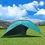 Oxking Strandmuschel Pavillon Wasserdicht Ereignis Schutz 8 Personen 2m Hoch Zelt Angeln Garten Sonnenschirme Markisen mit UV Schutz
