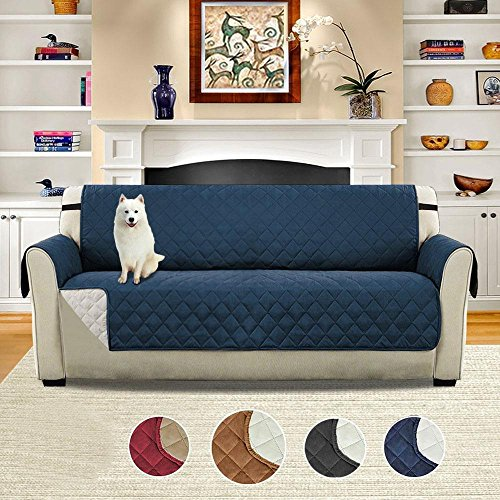 Pawaca Sofa Cover, Sofa Protector Luxury Padded Furniture, Waterproof, Anti-Dirty, Anti-grab