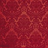 Tessuto Arredamento al metro damascato rosso-Style 235 h.280