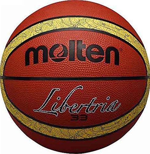 Onlysportsgear Molten B6t2000-ti 33 Libertria Basketball, 12 Platten, robust