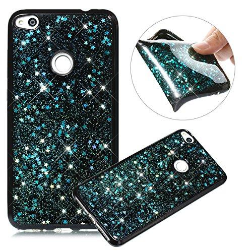 custodia huawei p8 lite 2017 silicone glitter