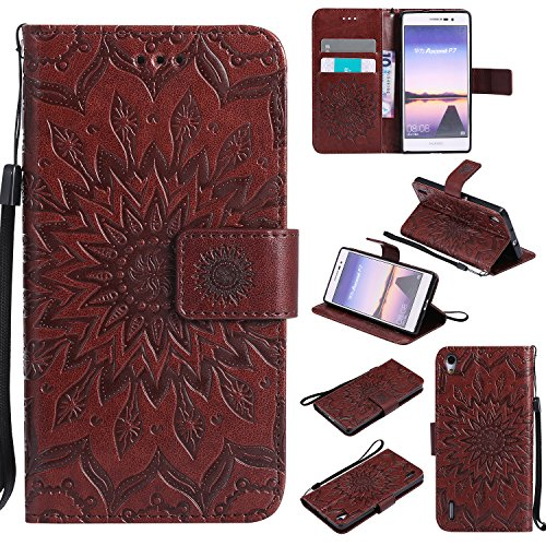 for-huawei-ascend-p7-case-browncozy-hut-wallet-case-magnetic-flip-book-style-cover-case-high-quality