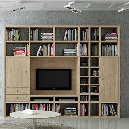Wohnwand TV-Kombination TOLEO238 Eiche Sonoma