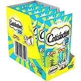 CATISFACTIONS - Mix au saumon et au thon - Friandises pour chats - Sachet de 60 g - Lot de 6