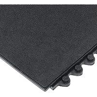 Wearwell 570.58X 3X 3grbk 24/Siete antifatiga sólido Mat, grasa resistente, 91cm x 91cm, negro