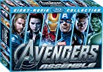 Collectors pack includes 8 super hero movies - Avengers,Iron Man, Iron Man 2 ,Iron Man 3,Captain America-The First Avenger,Captain America - The Winter Soldier,Thor and Thor - The Dark World