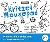 Kritzel Mousepad - Kalender 2017: Jede Woche ein Kreativspaß, Mousepad-Kalender