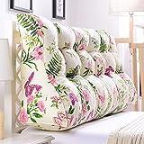 LJHA Kissen halten Kissen lumbale Kissen Sofa gepolsterte Rückenlehne große Taille Kissen im Bett (Farbe : B, größe : 90cm)