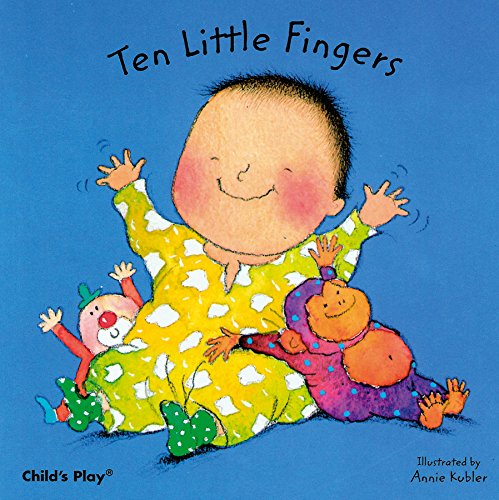 Ten Little Fingers (Baby Board Books)