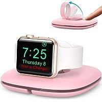 AHASTYLE Kompakter Ladestation für Apple Watch【Ladegerät Nicht Enthalten】 Faltbarer Pop-Up-LadeStänder, Dock-Halterung…
