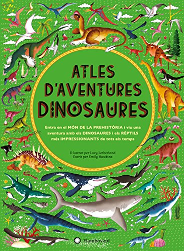 Atles d'aventures dinosaures por Emily Hawkins