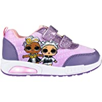 L O L Surprise! Girls Shoes Trainers Sneakers, Lightweight Design Perfect for School, Smart or Casual, Kids Fashion…