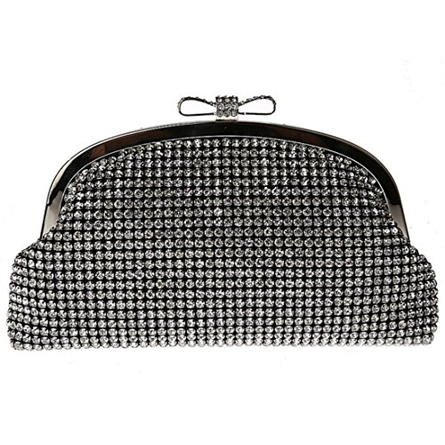 YYW Evening Bag, Poschette giorno donna Black