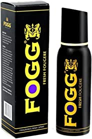 Fogg Fresh Fougere Fragrance Body Spray Black Series For Men, 150ml