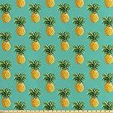 ABAKUHAUS Obst Stoff als Meterware, Tropische