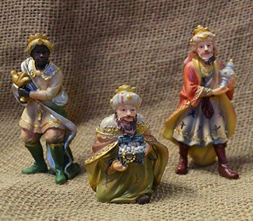 Los Reyes Magos 3piezas. Set, para figuras de 10cm