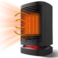 Heizlüfter - Elektroheizung Heizung Energiesparend Heizluefter Heizkörper Mini Heizstrahler mit Oszillation…