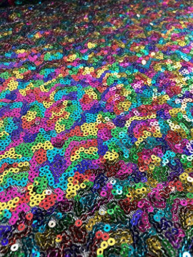 LushFabric Mini Tela de Lentejuelas de 3 mm