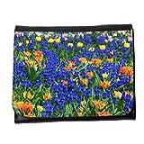 Portemonnaie Geldbörse Brieftasche // M00153468 Schöne Blumenbeet Bloom // Small Size Wallet