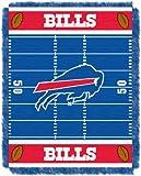 NFL Buffalo Bills Field Woven Jacquard Baby Throw Blanket, 36x46-Inch by Northwest