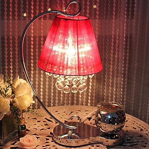 Un estilo moderno y minimalista decorado con atenuación creativa lámpara de mesilla dormitorio estudio aromaterapia lámparas de cristal de luz , la vino rojo - el interruptor atenuador