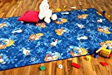 Snapstyle Kinder Spiel Teppich Walt Disney Frozen Blau