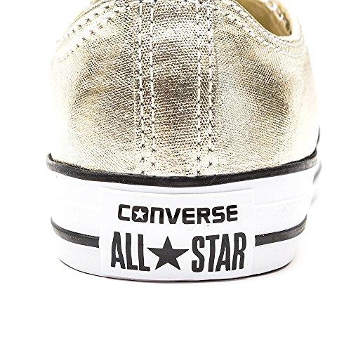 Converse - Chuck Taylor All Star Ox, Scarpe sportive Uomo Metallisch