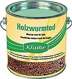 """'Kluthe Madera Gusano Muerte 750ml Biocida Productos Prudente utilizar. Antes de utilizarlo Leer la etiqueta y la Información del producto. """""""