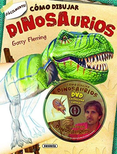 Cómo dibujar dinosaurios + DVD (Como dibujar dinosaurios)