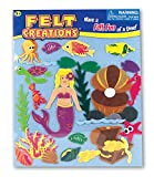 Felt Creations Felt Picture Play Set - MERMAID WORLD Fuzzy Felt Creative Scene Fun Toy