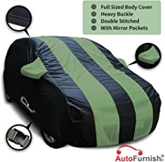 Autofurnish Car Body Cover for Mahindra XUV500 (Arc Green and Blue)