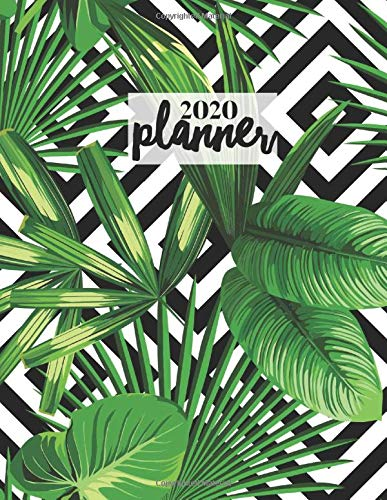 2020 Planner: Weekly & Monthly Schedule Diary With Notes, Goal Setting & Address Book | 8.5