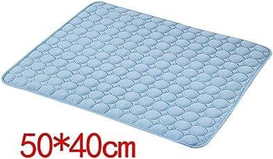 Blue Vessel Haustier-Eis-Pad Haustierbett Ice Pad Hund Sleeping Matte für Hunde Katzen Sommer
